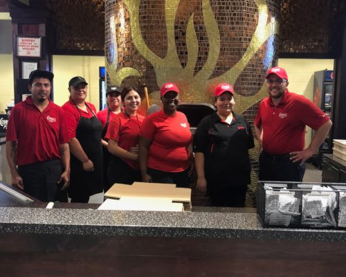 Connie's Pizza has been a fixture at McCormick Place since the 1980s, recently expanding with its Ambrosia and Esperanza carts that serve fresh panini, salads and organic favorites.